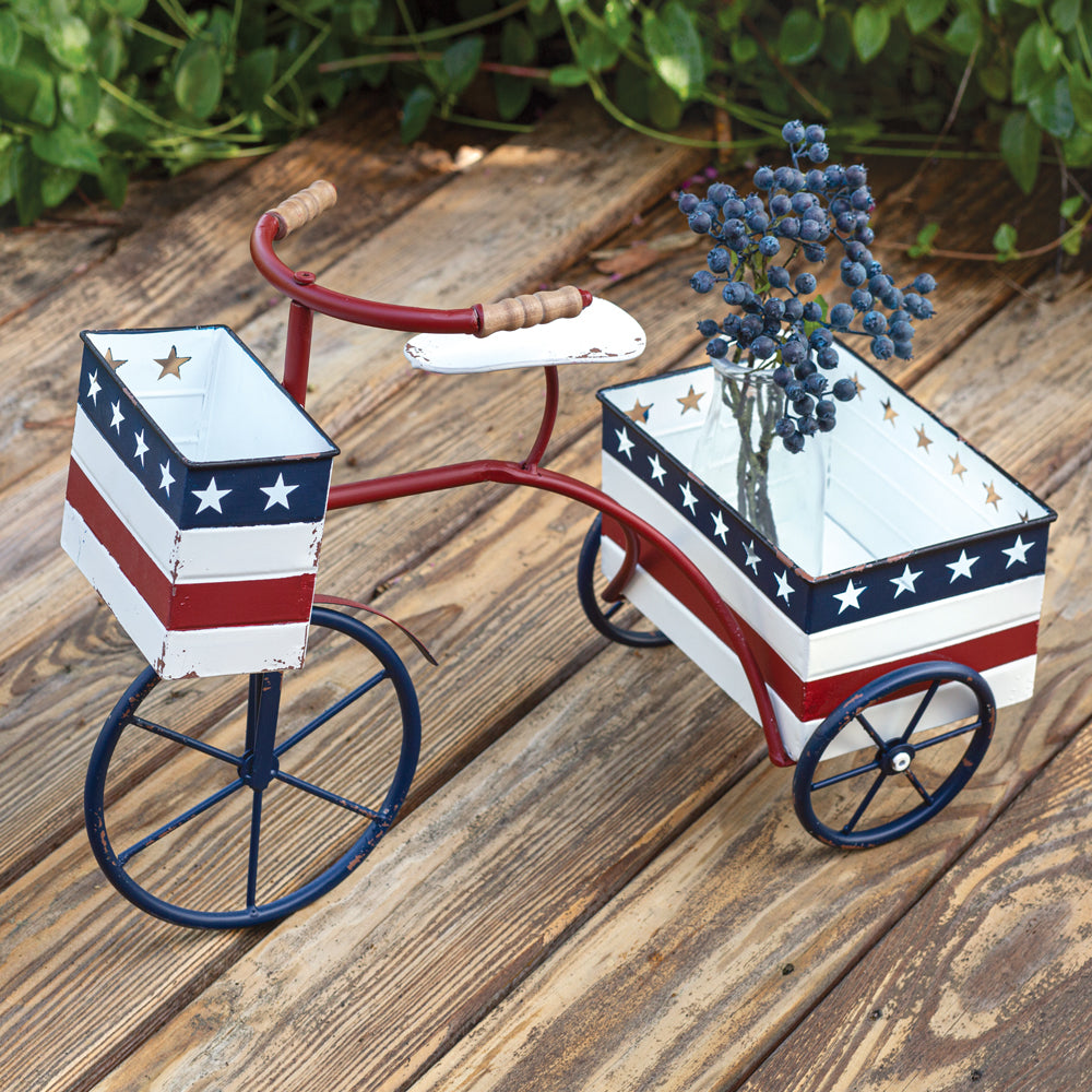 Americana Tricycle Planter