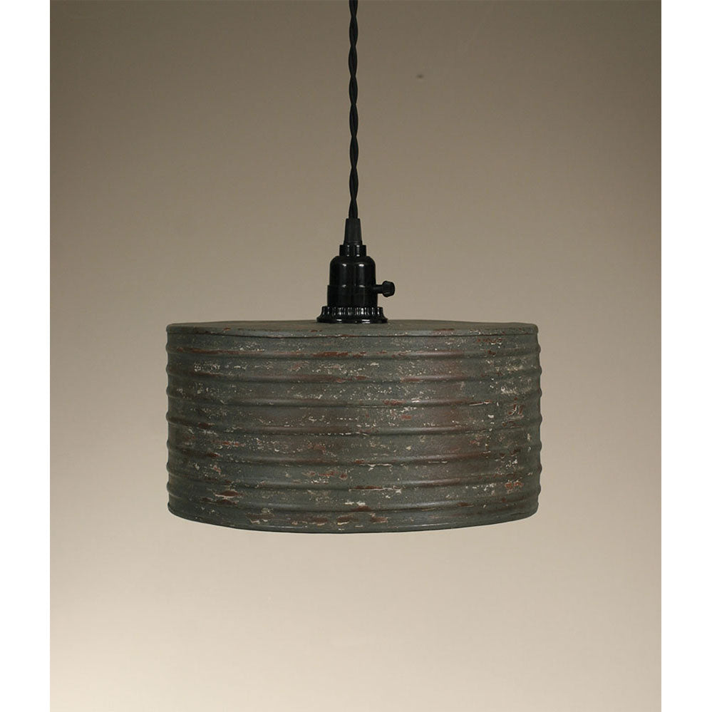Barn Roof Round Pendant Lamp
