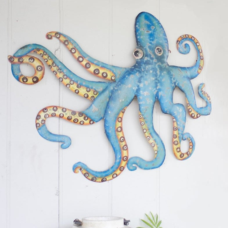 Charming Octopus Wall Decor