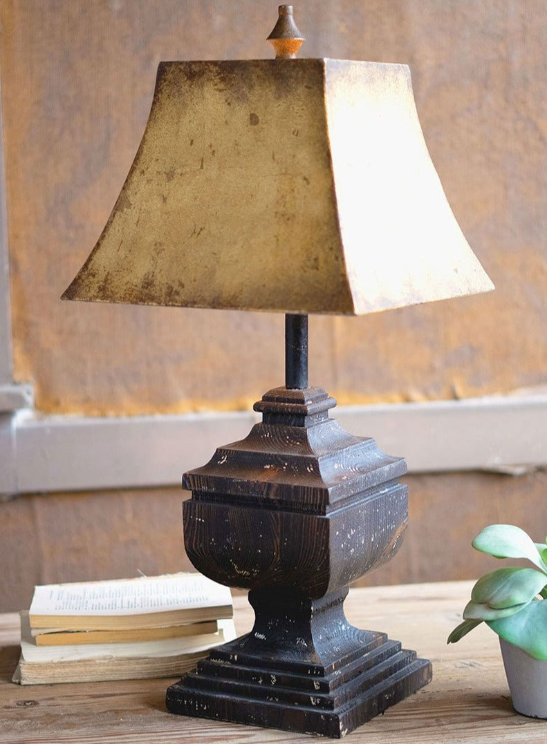 Antique Tudor Table Lamp