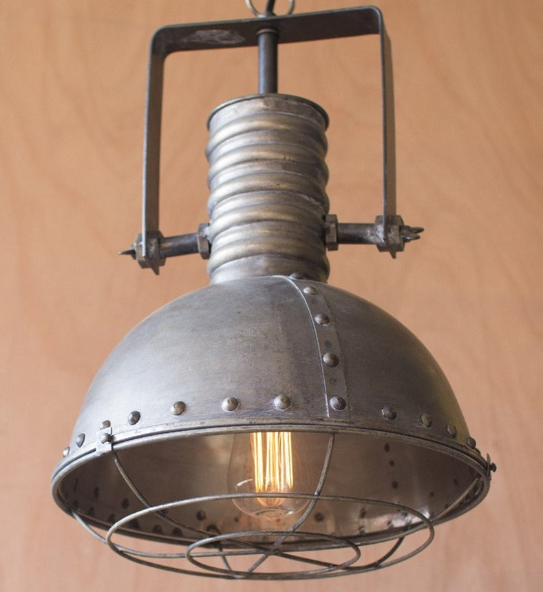 Metal Warehouse Pendant Light