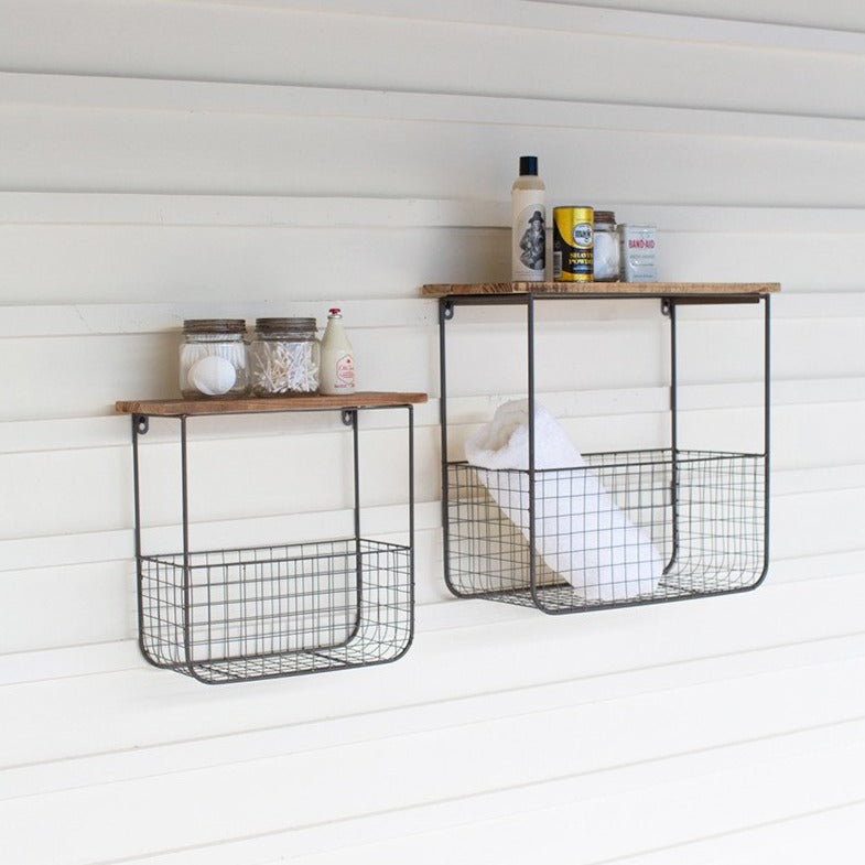 Wire Bakers Shelves - Set of 2