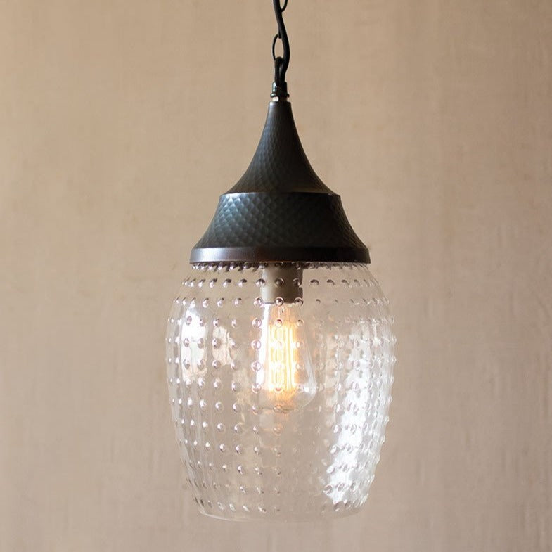 Industrial Teardrop Pendant Light