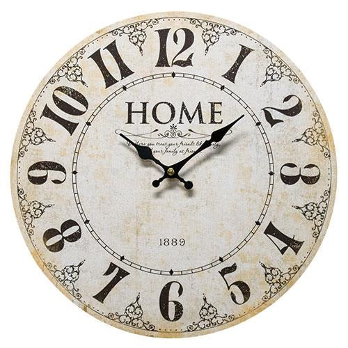 Home 1889 Wall Clock
