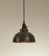 Aged Copper Pendant Light