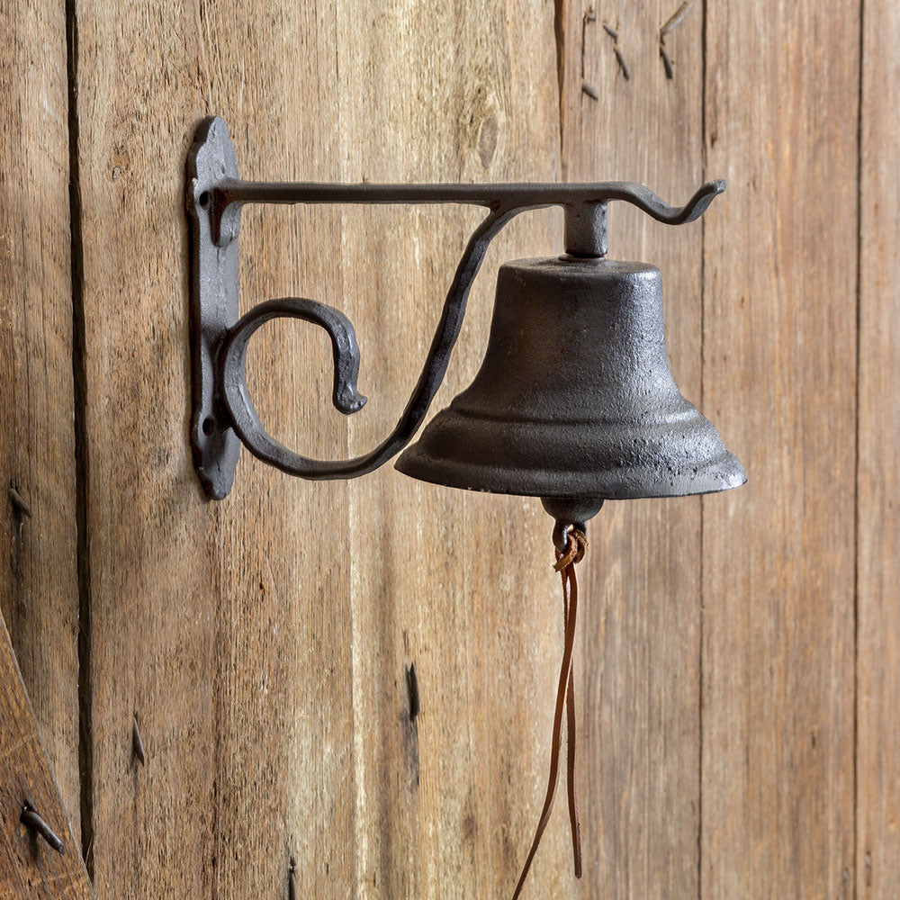 Charming Rustic Dinner Bell