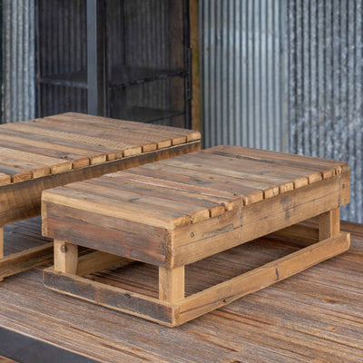 Farmer's Market Display Platform Crates, Set of 2