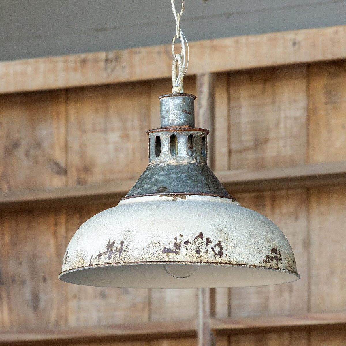 Old Factory Pendant Light - ETA 7/3/2020