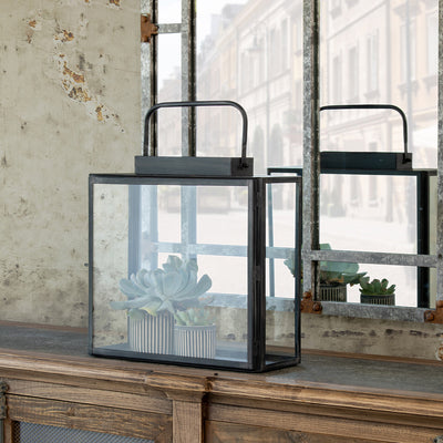 Maxwell Antique Black Lantern