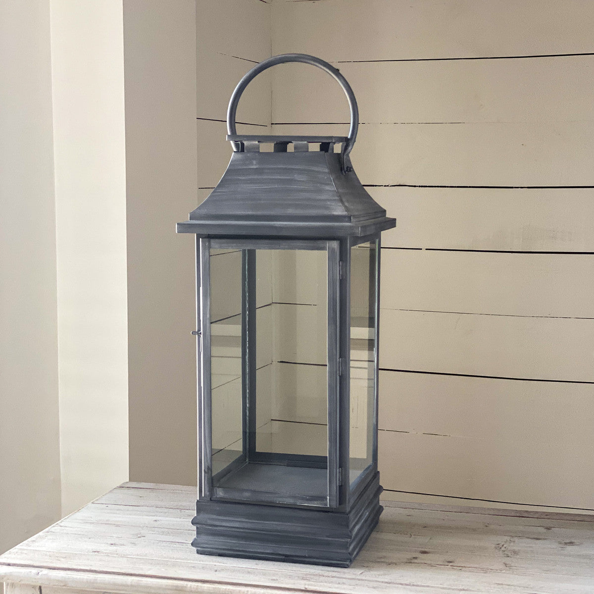 Chester Antique Black Lantern