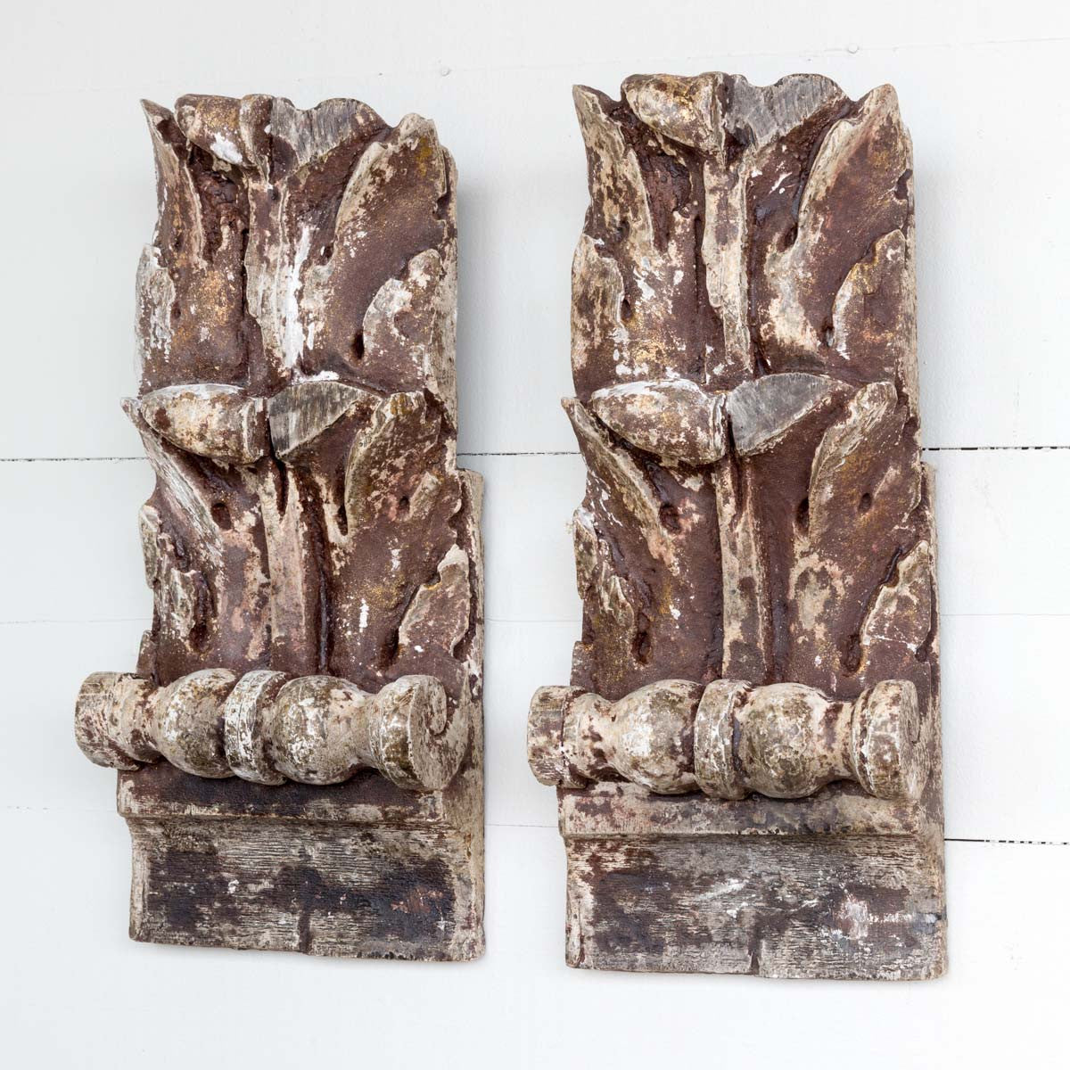 Acanthus Leaf Relics - Set of 2