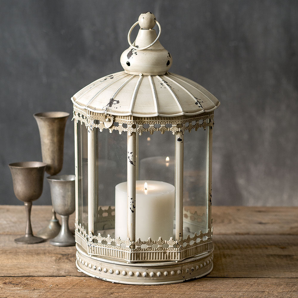 Large French Country Candle Lantern