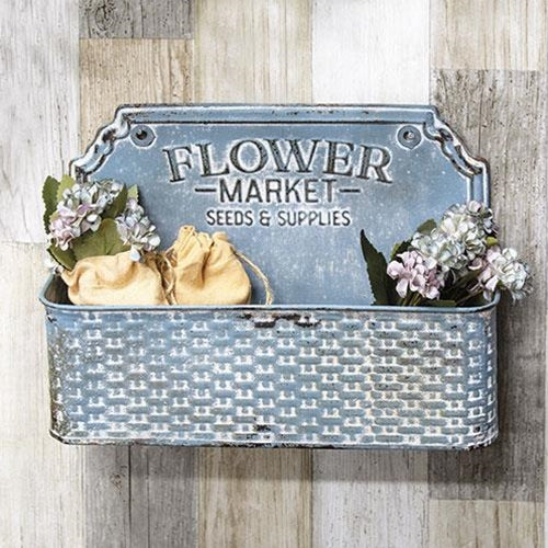 Flower Market Wall Basket