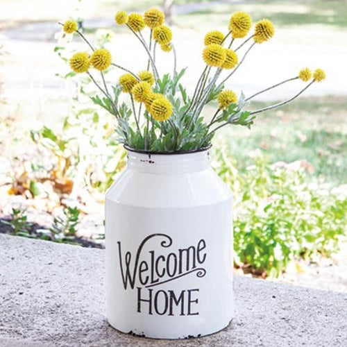 "Chippy ""Welcome Home"" Milk Can"