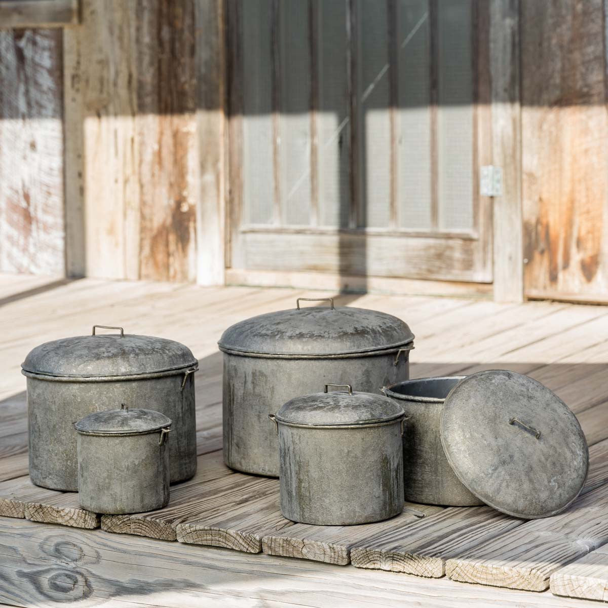 Cellar Storage Pots - Set of 5