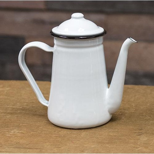 Charming Farmhouse Coffee Pot