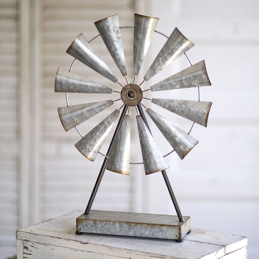 Farmhouse Tabletop Windmill