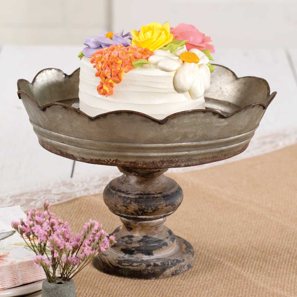 Sweet Vintage-Inspired Dessert Tray