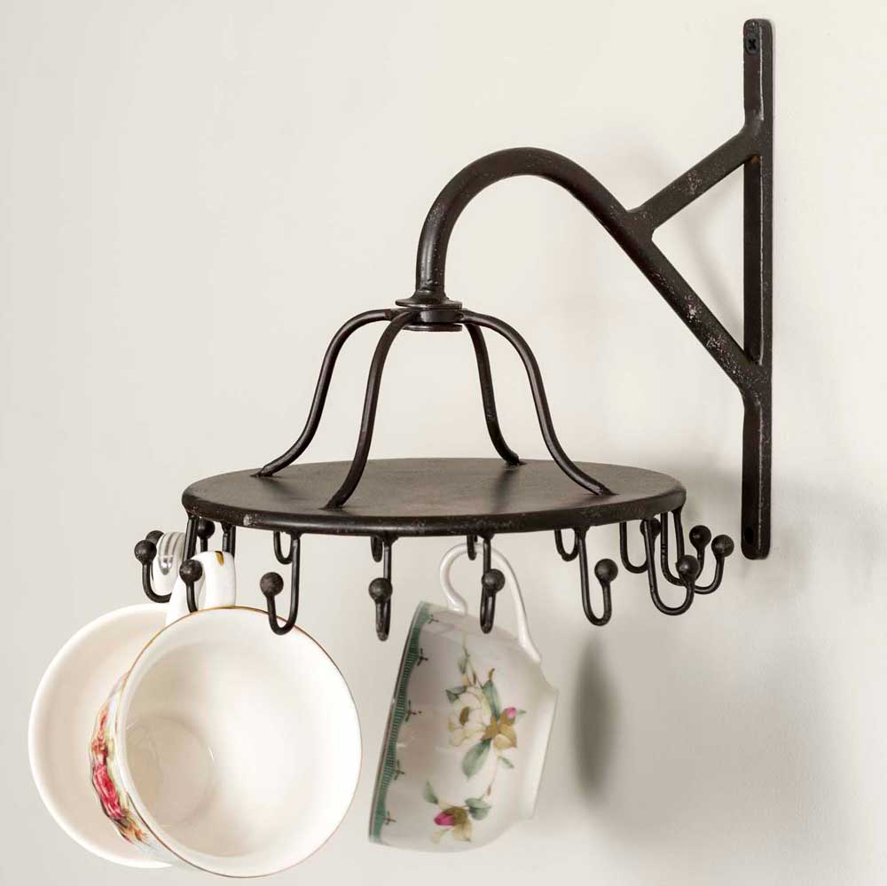 Spinning Teacup Rack