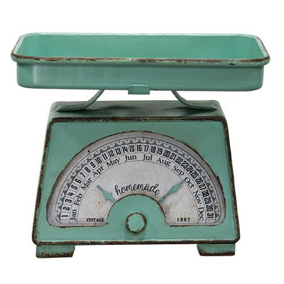 Retro Kitchen Scale with Dates