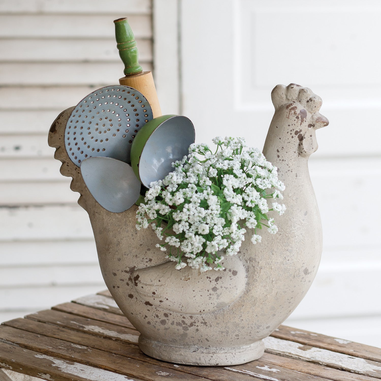 Lovely Hen Planter - ETA 9/30/20