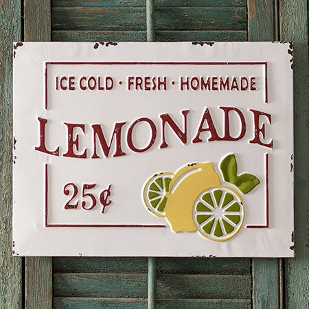 "Farmhouse ""Lemonade"" Sign"