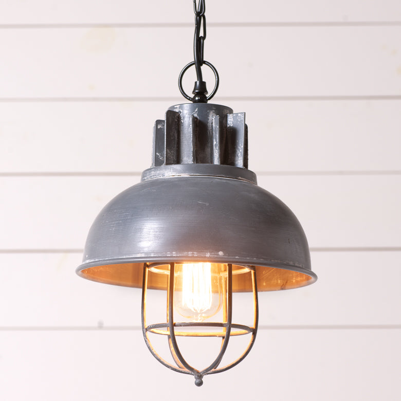 Industrial Motor Pendant Light