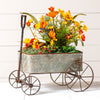 Vintage-Inspired Wagon Planter