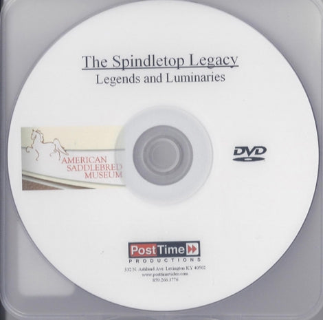 Spindletop Legacy DVD