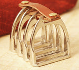 Gold Stirrup Napkin Rings