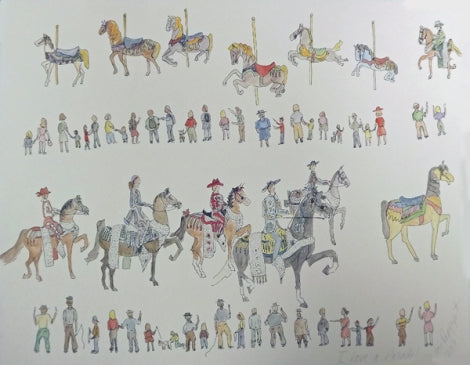 Lois Rappaport I Love A Parade Print