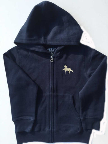Navy and Tan American Saddlebred Hoodie