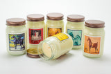 American Saddlebred Museum Candle Autumn Fields Group