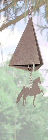 Saddlebred Wind Chime Bronze