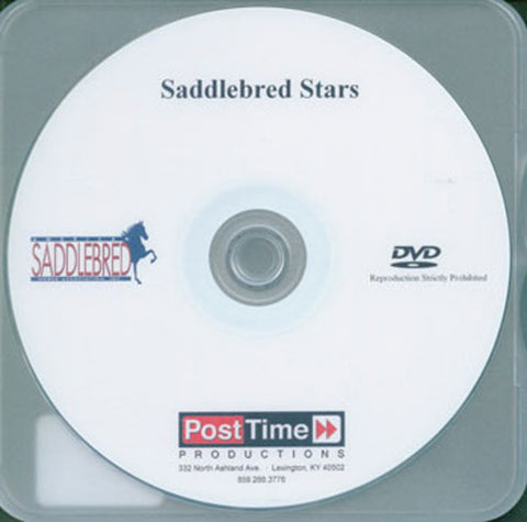 Saddlebred Stars DVD