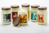 American Saddlebred Museum Candle All Tacked Up Group
