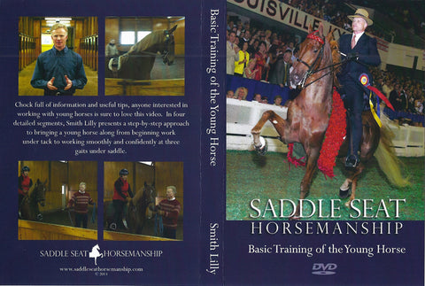 Basic Training of the Young Horse DVD Cover and Back