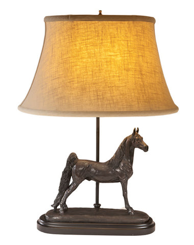 Saddlebred Horse Lamp