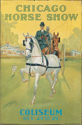 Frank Whitney 1904 Chicago Horse Show Poster