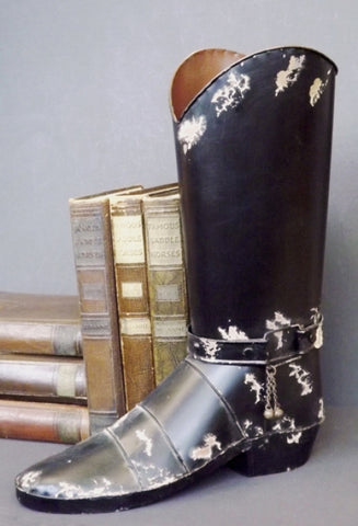 Decorative Metal Boot