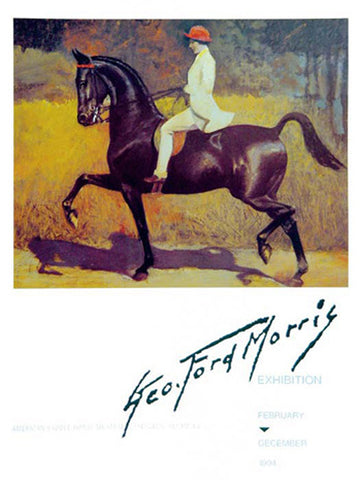 George Ford Morris Exhibition Poster