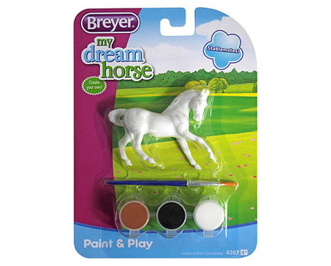 Breyer Paint & Play Stablemate Horse