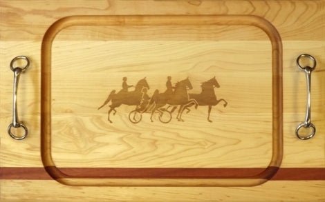 Saddlebred Bit Handle Cutting Board