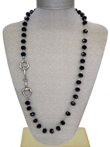 Rosary Bit Necklace