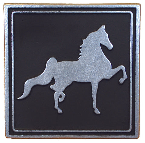 Trailer Hitch Cover Saddlebred