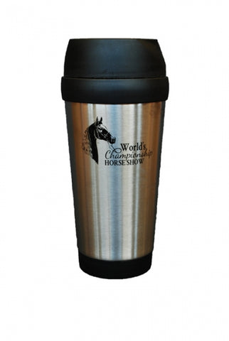 Stainless Tumbler World's Championship Horse Show Logo