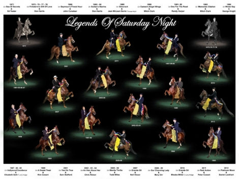 Legends of Saturday Night Three Gaited DVD