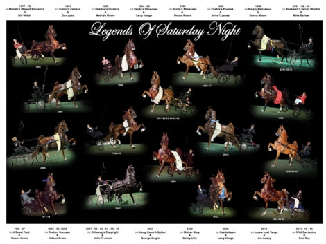 Legends of Saturday Night Fine Harness DVD