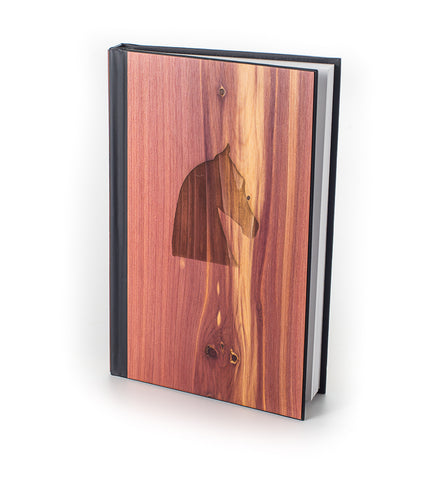 Woodchuck Saddlebred Horse Head Journal