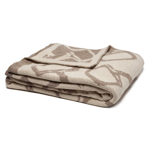 Reversible Bit Throw Flax Hemp